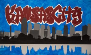 Errienne's Art - KC Graffiti Skyline