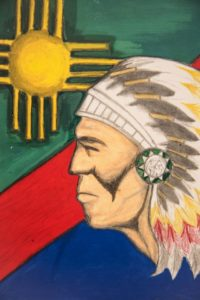 Gabriel's Art - Native American Indian Chief